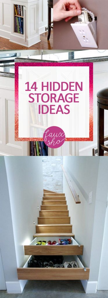 14 hidden storage ideas for Hidden storage ideas