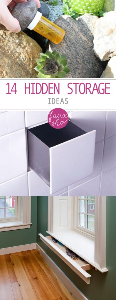 Hidden Storage, Hidden Storage Hacks, Home Organization, How to Beat Clutter, Clutter Reducing Tips and Tricks, How to Reduce Clutter In Your Home, Organization, How to Organize Tiny Spaces.