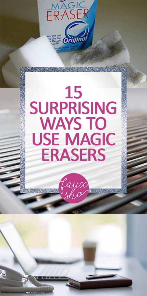 15 Surprising Ways to Use Magic Erasers |