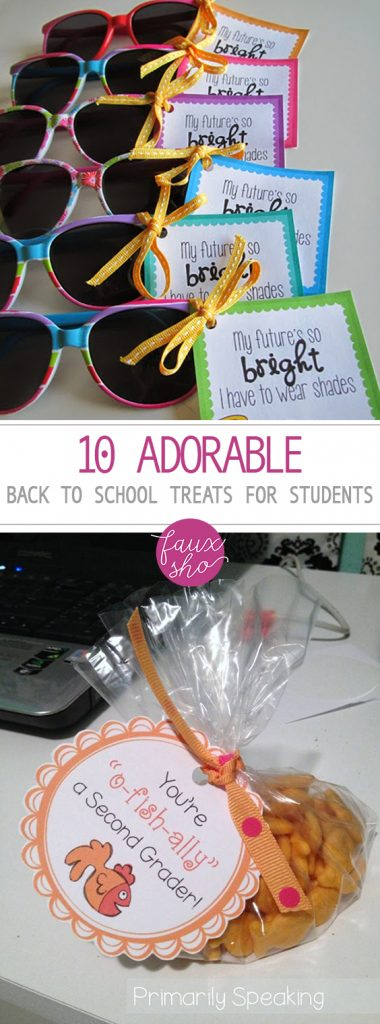 10 Adorable Back-to-School Treats for Students| Back To School Treats for Kids, Back to School Treats, Easy to Make Back to School Treats, Crafts, Back to School Crafts for Kids, Treats for Students, Back to School Fun, Popular Pin