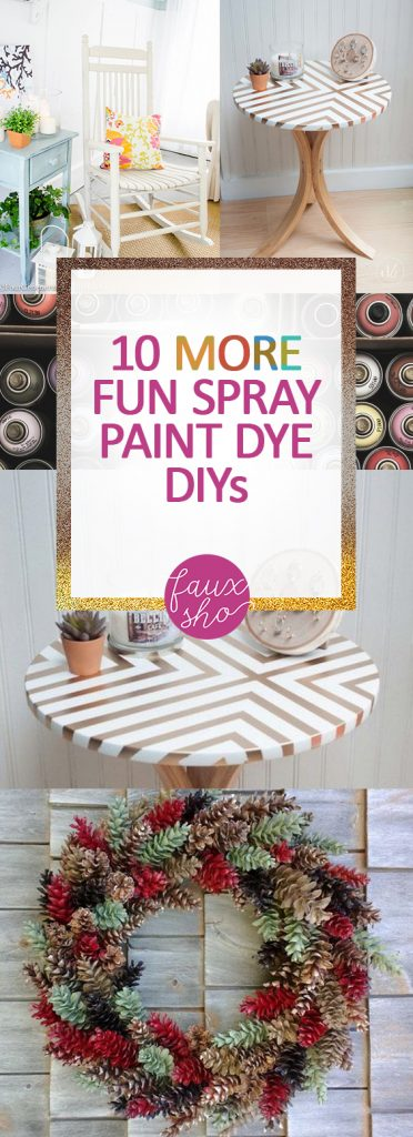 Spray Paint DIY Projects, Spray Paint Projects, DIY Projects, Spray Paint 101, Crafts, Spray Paint Crafts, Crafts Projects, DIY Craft Projects, Easy Spray Paint DIY Projects