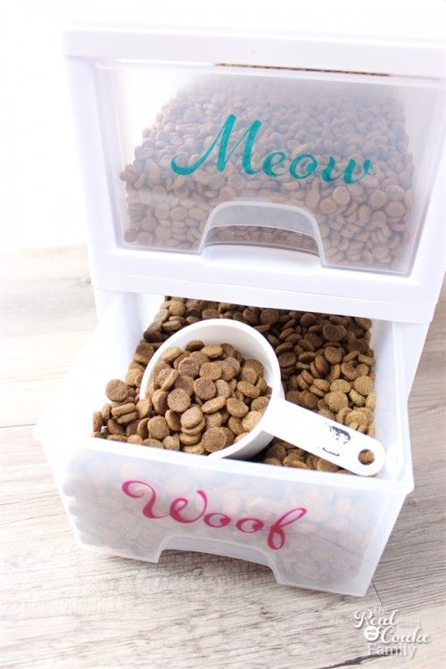 Creative Ways To Store Your Petu0027s Food| How To Store Pet Food, Simple Ways  To Store Pet Food, How To Organize And Store Pet Food, Pet Food  Organization And ... Photo Gallery