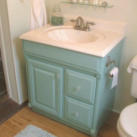 Update Your Vanity With Concrete| Bathroom Upgrades, Easy Bathroom Upgrades, How to Update Your Vanity, Easily Upgrade Your Vanity, Bathroom Upgrades, Easy Bathroom Upgrades, DIY Bathroom, Popular Pin