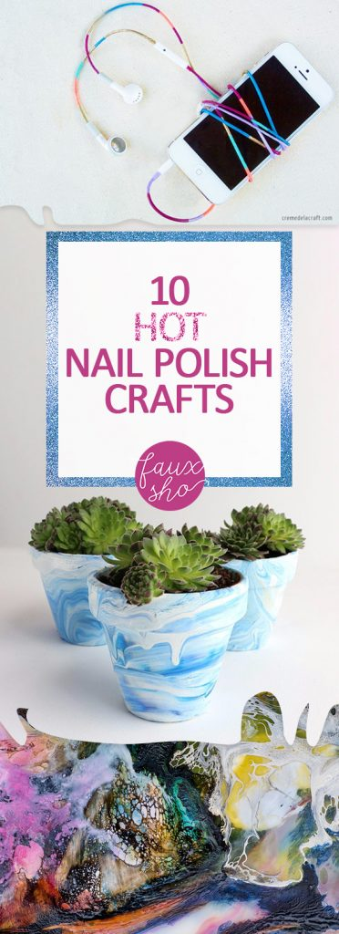 10 HOT Nail Polish Crafts| Nail Polish Crafts, Nail Polish Tips and Tricks, Craft Projects, Nail Polish Crafts, Crafts, Crafting, Crafting Tips and Tricks, Nail Polish DIYs, Nail Polish DIYs, Popular Pin