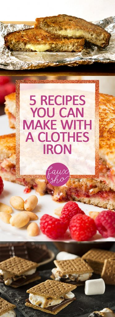 5 Recipes You Can Make With a Clothes Iron| Food Recipes, Delicious Food Recipes, Fast Food Recipes, Food for Kids, Kid Friendly Recipes, Yummy Food for Kids, Popular Pin #Recipes #FastRecipes #KidRecipes #Food