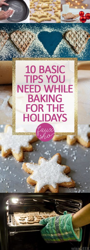10 Basic Tips You Need While Baking for the Holidays| Holiday Baking Tips, Christmas Baking Tips, Holiday Baking Tips and Tricks, Holiday Hacks, Home Hacks, Christmas, Christmas Hacks #HolidayBaking #HolidayBakingTips #Christmas
