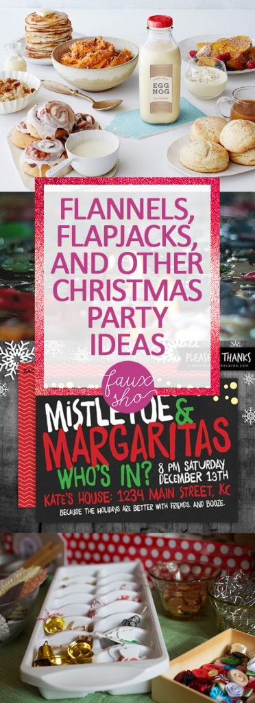 Flannels, Flapjacks, and Other Christmas Party Ideas| Christmas Party, Christmas Party Ideas, Party Planning, How to Plan a Party, Party  Hacks, Christmas, Christmas Holiday #Christmas #HolidayParty #PartyIdeas
