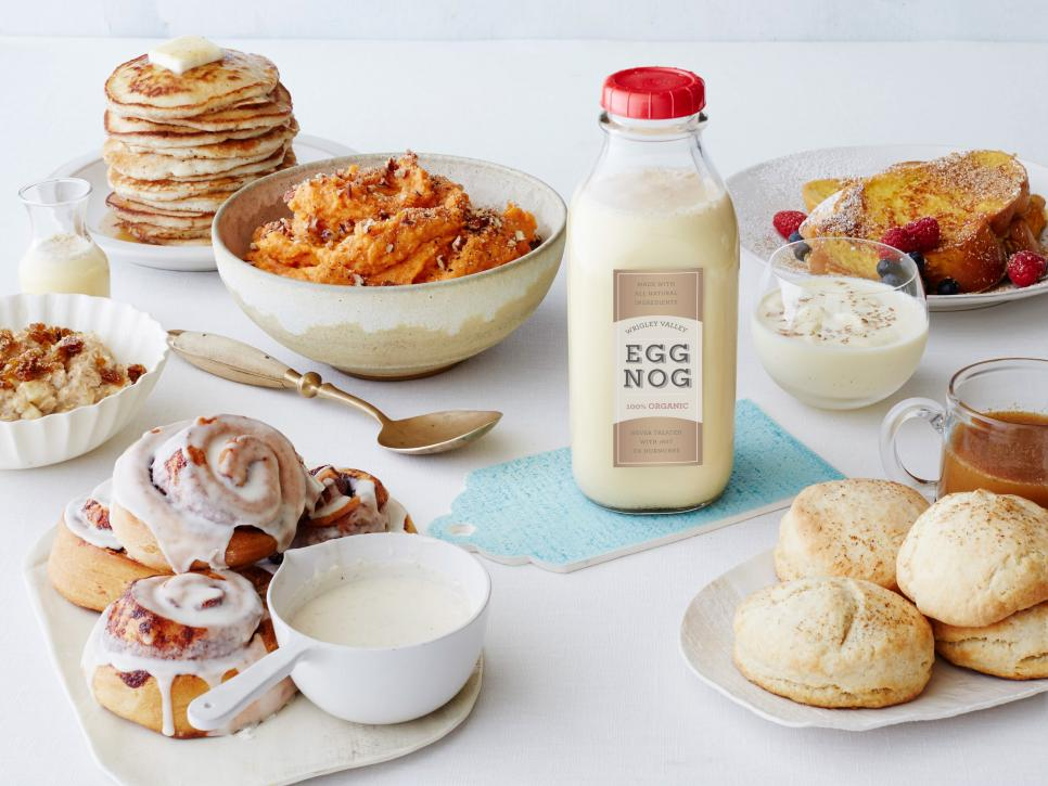 Flannels flapjacks and other christmas party ideas the eggnog rice pudding and french toast look especially delightful find great recipe ideas for all your leftover eggnog here from the food network forumfinder Gallery