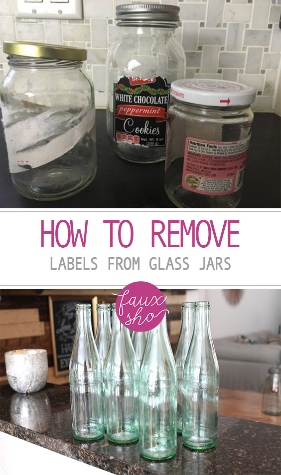 How to Remove Labels from Glass Jars| Glass Jar, Glass Jar Crafts, Craft Projects, Glass Jar DIYs, DIY Crafts, Glass Jar DIYs, Remove Labels #CraftProjects #GlassJar #DIYCrafts