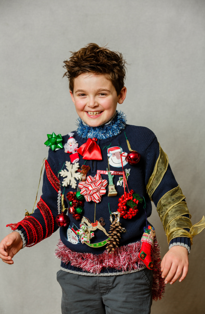 Ugly sweater celebrations are perfect for Christmas parties!