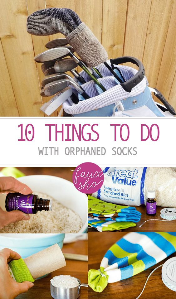 10 Things to Do With Orphaned Socks| Crafts, Easy Crafts, Sock Crafts, DIY Sock Crafts, DIY Crafts, Repurposed Crafts, Repurposed Crafts for the Home, Popular Pin #Crafts #DIY