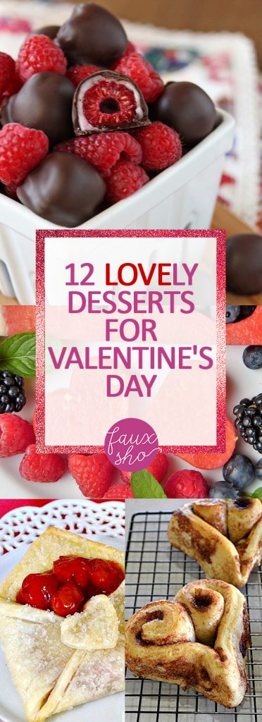 Desserts for valentines day