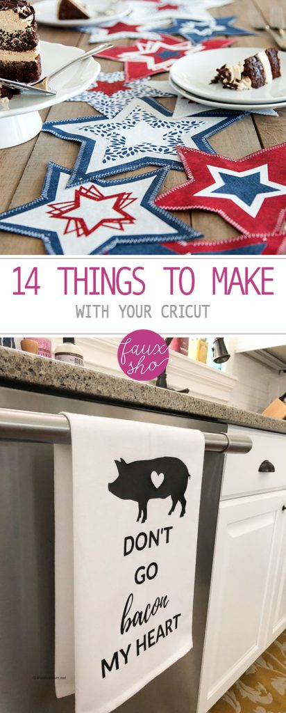 14 Things To Make With Your Cricut