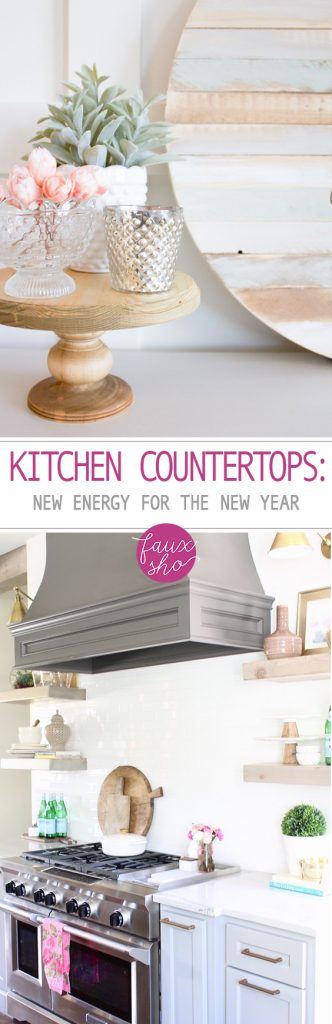 Kitchen Countertops: New Energy For the New Year - DIY Kitchen, Kitchen Countertops, DIY Home, Home Improvement, Home Decor, Home Decor and Home Improvement Hacks, Popular Pin #Kitchen #HomeDecor #DIYKitchen