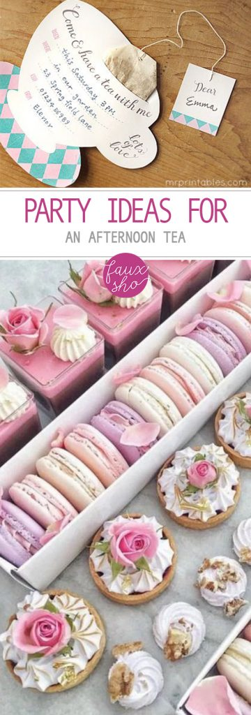 Party Ideas for an Afternoon Tea| Tea Party, Tea Party Ideas, Birthday Party, Birthday Party DIYs, Party Projects, Birthday Party Themes, Tea Party Themed Ideas, Popular Pin #BirthdayParty #TeaParty