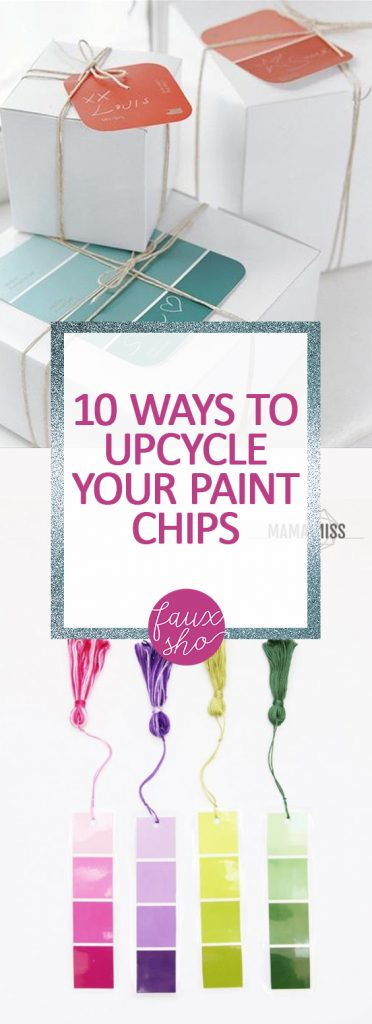 10 Ways to Upcycle Your Paint Chips| Paint Chip Crafts, Paint Chip Art, Paint Chip DIYs,  Paint Chips, Paint Chips in the Classroom, Crafts, crafts for Kids, Reuse Ideas, DIY Recycling Crafts, #PaintChipCrafts, DIY Reuse, Reuse Ideas #PaintChipArt #PaintChipDIYs