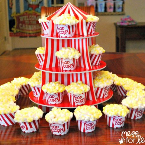 Big Top Ideas for Circus Birthday Parties| Circus Birthday, Circus Birthday Party, Birthday Party DIYs, Party Projects, DIY Party Projects, Popular Pin #BirthdayParty #Party #CircusBirthdayParty