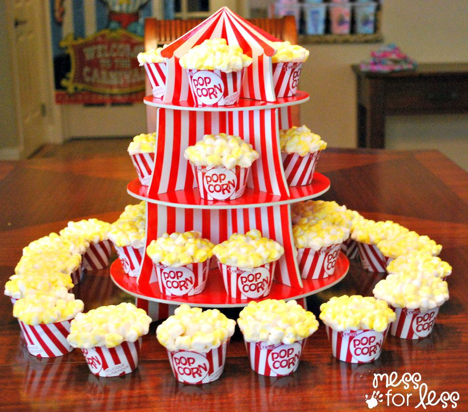 Big Top Ideas For Circus Birthday Parties