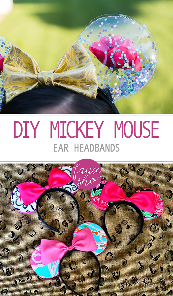 Diy Mickey Mouse Ear Headbands