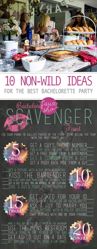 "10 ""Non-Wild"" Ideas for the Best Bachelorette Party
