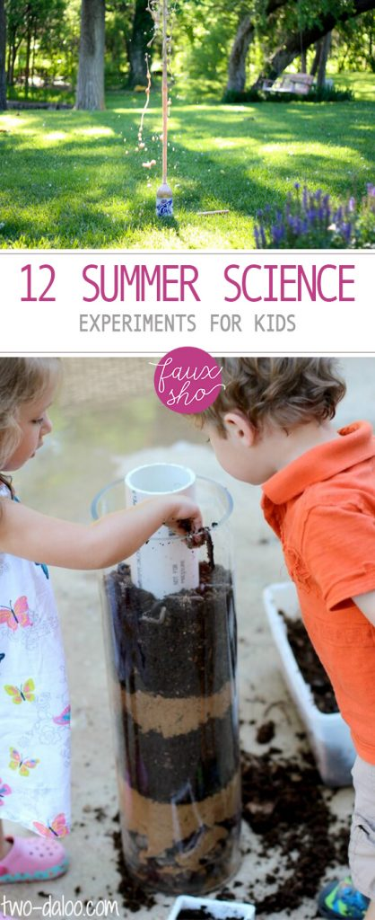 12 Summer Science Experiments for Kids| Science Experiments Kids, Kids Crafts, Science Experiments, Easy Science Experiments for Kids, Easy Science Projects, Kids Activities, Activities for Kids, DIY Crafts for Kids, DIY Projects for Kids