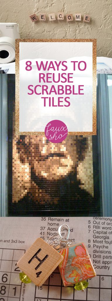8 Ways to Reuse Scrabble Tiles  Reuse, Reuse Ideas, Scrabble Wall Art, Scrabble Tile Crafts, Scrabble Wall art DIY, Scrabble Tile Crafts Home Decor #ScrabbleWallArt #ScrabbleWallArtDIY #ScrabbleTileCrafts