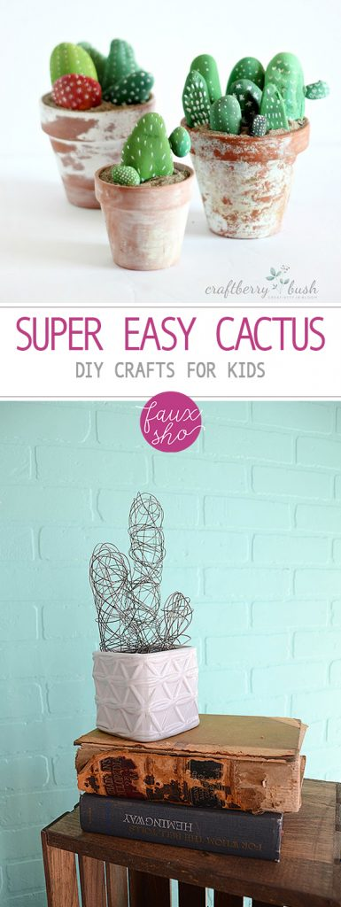 Super Easy Cactus DIY Crafts for Kids| Cactus Crafts, Cactus Crafts for Kids, DIY Crafts, DIY Crafts for Kids, Easy Crafts for Kids, Easy Crafts