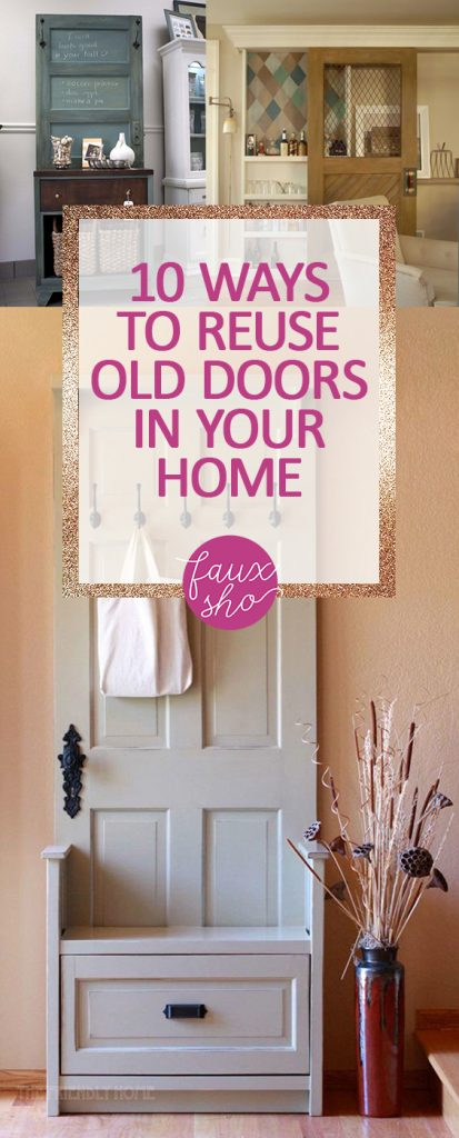 10 Ways to Reuse Old Doors in Your Home -