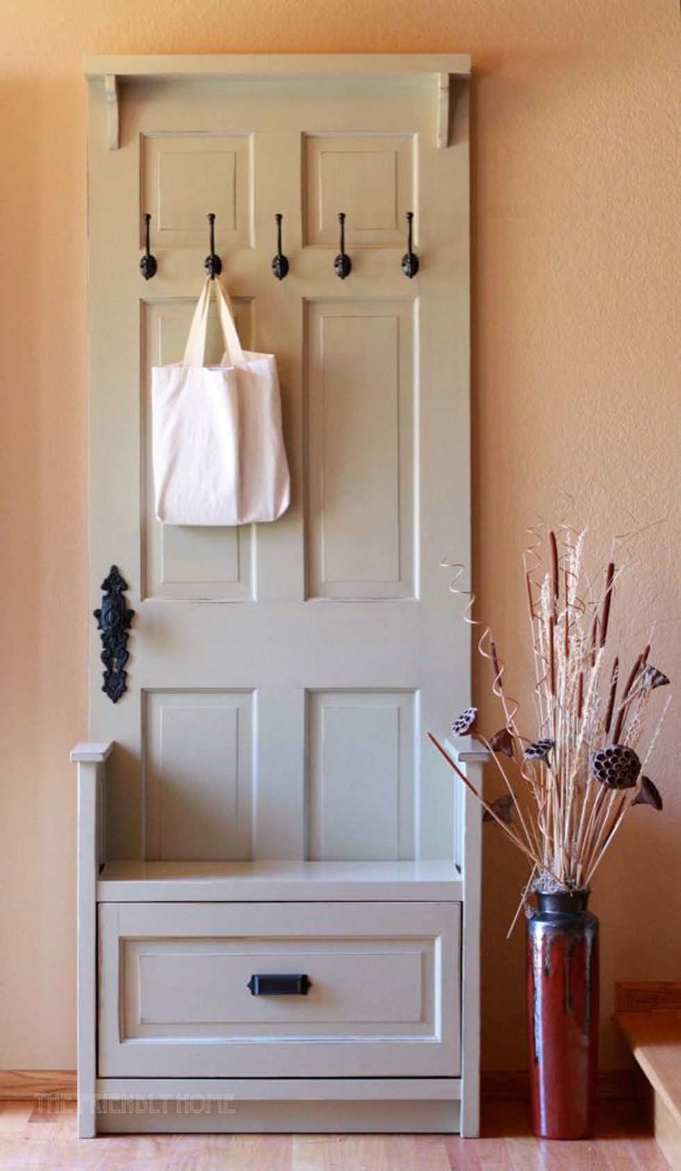 10 Ways to Reuse Old Doors in Your Home -