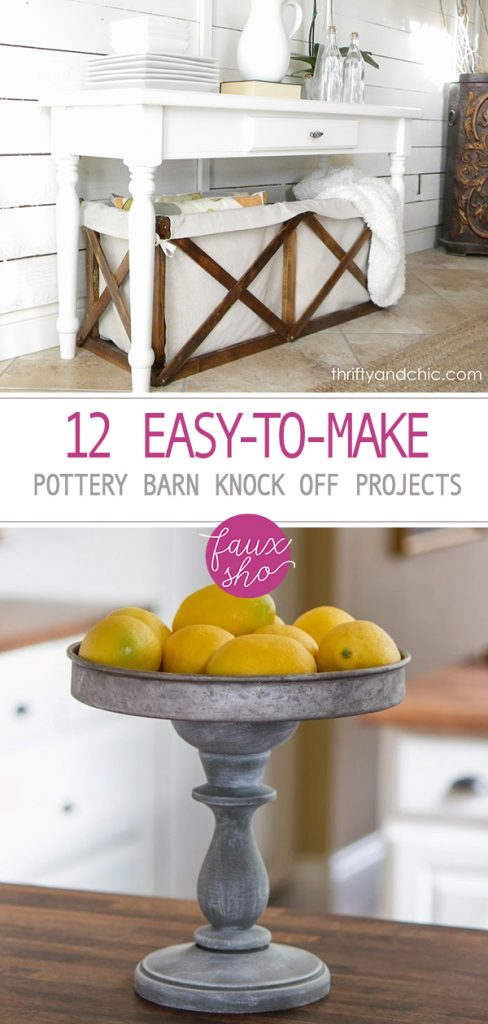 12 Easy-To-Make Pottery Barn Knock Off Projects| Pottery Barn, Pottery Barn Ideas, Pottery Barn Knock Off DIY,  Pottery Barn, Pottery Barn Decor Ideas, Home Decor, Home Decor Ideas, DIY , DIY Home Decor