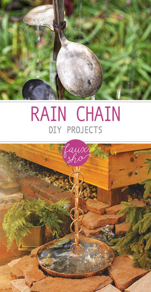 Rain Chain DIY Projects| Rain Chain DIY, Rain Chain Ideas, Rain Chain Ideas, Rain Chain Gutters, DIY Projects, DIY, Outdoor DIY