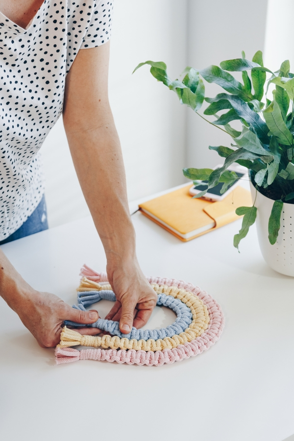Macrame DIY can be tough to master, but with a little patience and persistence, you can learn how to tie macrame knots and make incredible projects. Sliding closures are handy because when you use them, you can make adjustments. This is a nice option for jewelry projects.