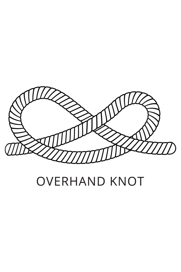 Macrame DIY can be tough to master, but with a little patience and persistence, you can learn how to tie macrame knots and make incredible projects. The overhand knot will make sure your projects don't come apart.