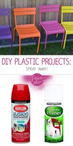 Plastic Projects   DIY Plastic Projects   Reuse Plastic with Plastic Projects   Spray Paint for Plastic Projects   DIY Plastic Project Ideas