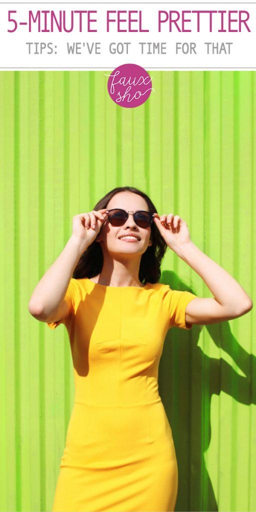 5-minute feel prettier tips | beauty | self care | beauty tips | beauty hacks | beauty tips and tricks | beauty tricks