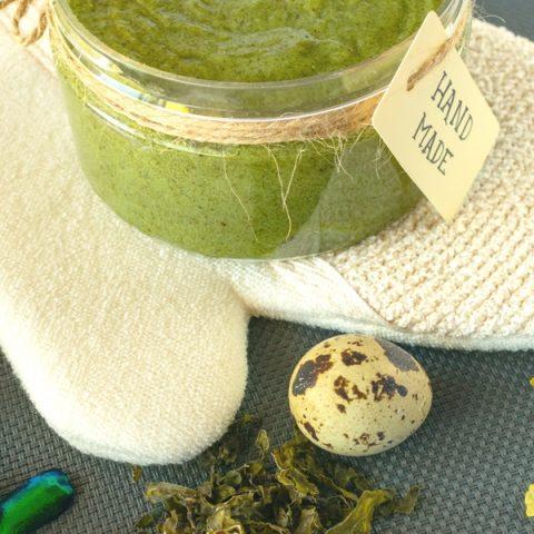 DIY Seaweed Body Scrub