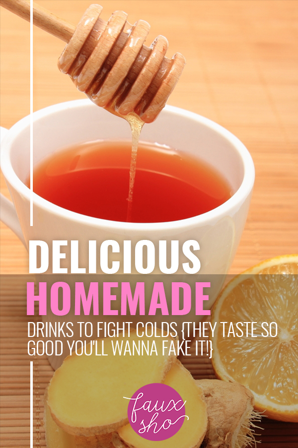 Homemade Drinks To Fight Colds | healthy tips | recipes | cold remedies | flu remedies | homemade drinks