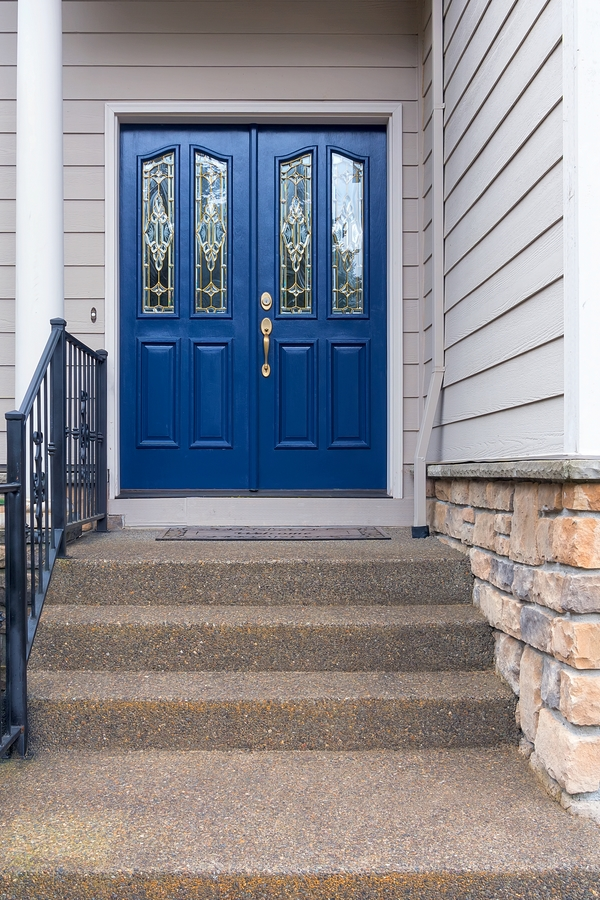 navy blue exterior colors | best navy blue paint colors | exterior paint | home exteriors | exterior colors | navy