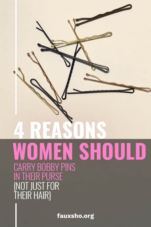 Women Should Carry Bobby Pins | life | tips and tricks | bobby pins | life hacks