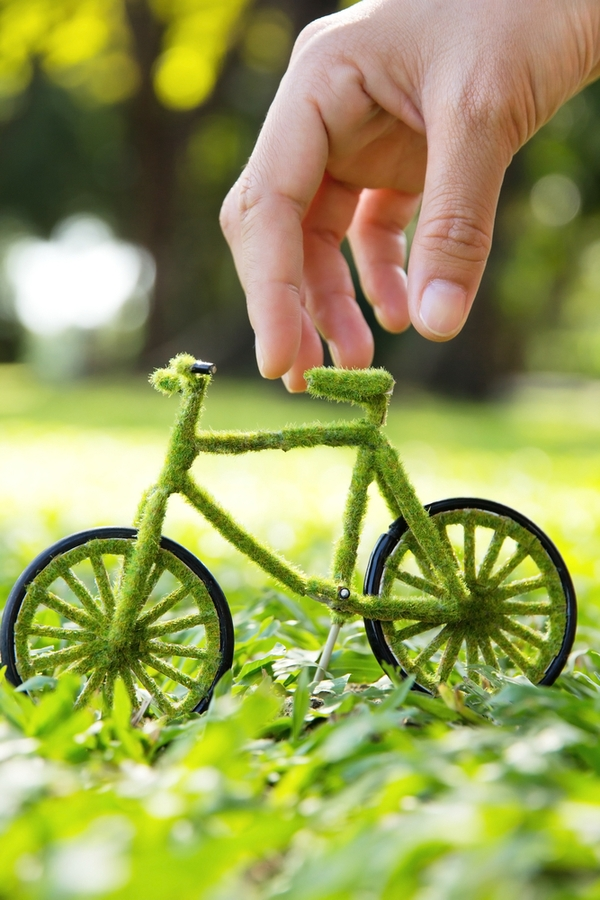 If you are lucky enough to live close to your work, try biking or walking. Look here for more sustainable lifestyle ideas.