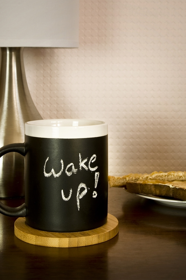 One of the tips for a productive day routine is to wake up early and start moving