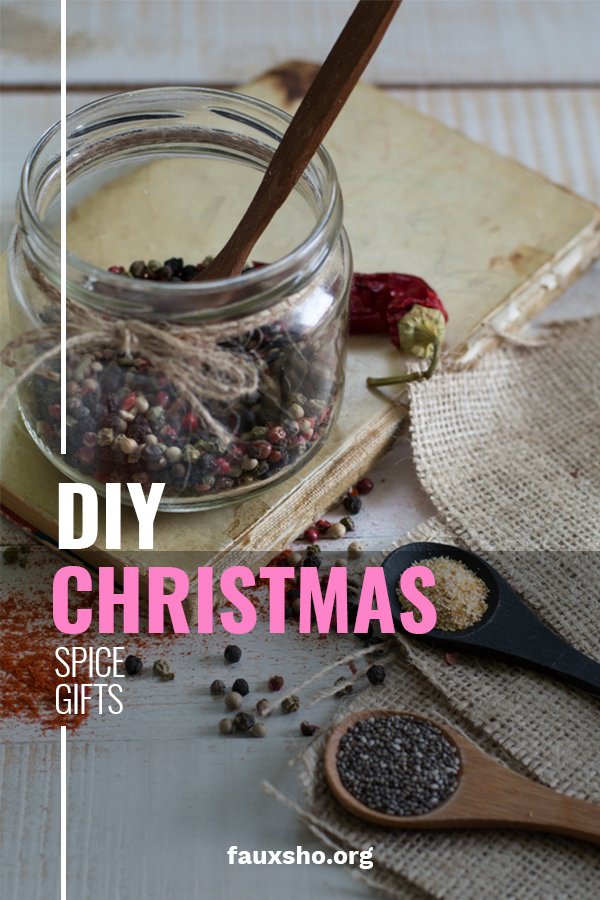 "Do you know people who love spices? Maybe they love to add them to their favorite dish, or grill with them. Whatever their preference be, we have some awesome DIY Christmas spice gift ideas for you. After all, Tis the ""Seasoning"". We will discuss  blends for a sugar and spice feel, to ones made for those meat loving BBQ peeps. Keep reading to learn about different blends you can put together. These are great gifts for co-workers, friends, and neighbors. #DIYSpicegifts #neighborgiftideas"