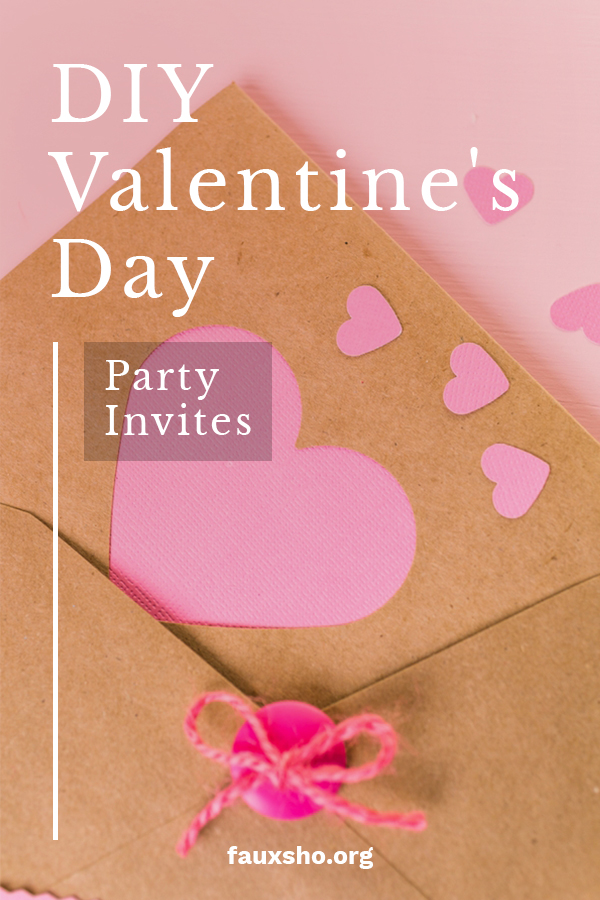 I love a good party. And there is a better holiday to celebrate than Valentine's Day. A successful party starts off with an awesome invite. We have some ideas for invites that you can DIY and come from the heart. Those are the best kind, right? Celebrate the day of love with these easy to make DIY invites. For more info, keep reading. #DIYValentinespartyinvites #DIYinvitations #Valentinesinvitation