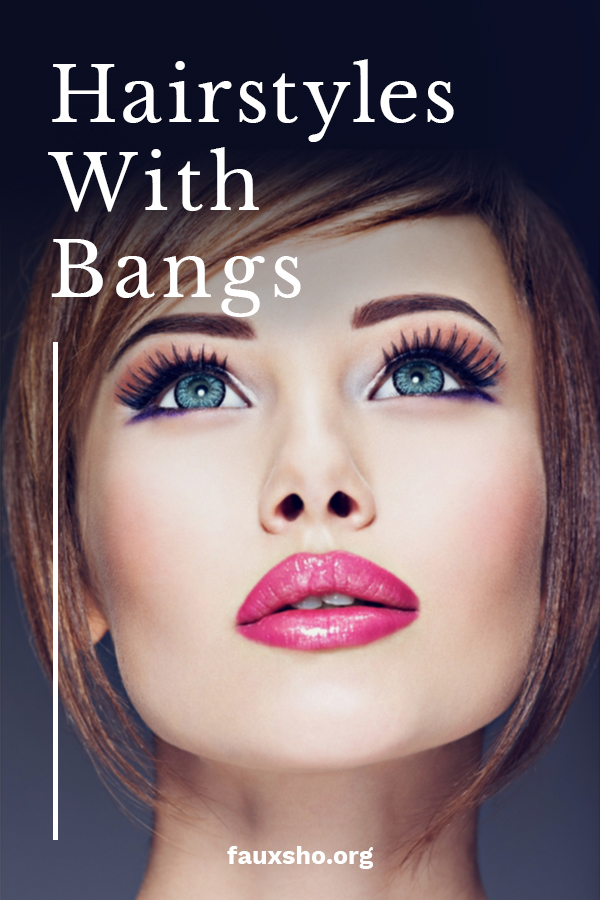 The new look in hairstyles is all about bangs. You may not know but there are many different styles of bangs and we will tell you all about them. Find out which look is for you by reading on. Maybe you will choose the curtain fringe or bleached bangs. Show us a pic of your new do. #hairstyleswithbangs #bangs