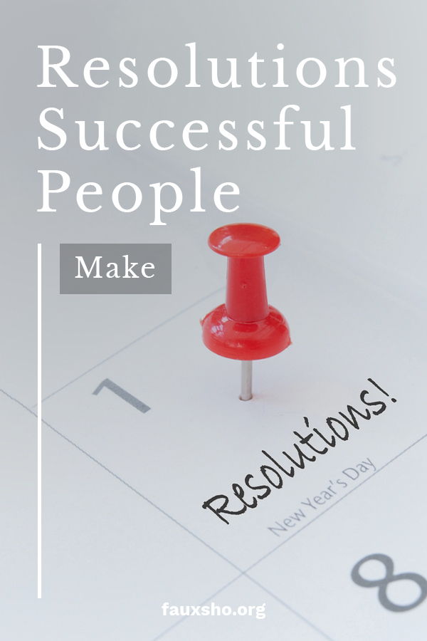 Have you ever noticed that successful people don't just make resolutions and then break them like so many others do. What is their secret? Could you become a successful person like they are? Of course you can and we want to show you how. Learn ways to set realistic resolutions that actually become habit. That is the key to their success. Keep reading to learn more. #successfulhabits #realisticresolutions