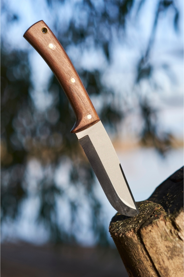 Bushcraft camping basically takes regular camping up a notch. Bushcraft camping is also the best way to learn and brush up on your wilderness survival skills. A knife is a very important thing to have in your bushcraft camping survival kit.
