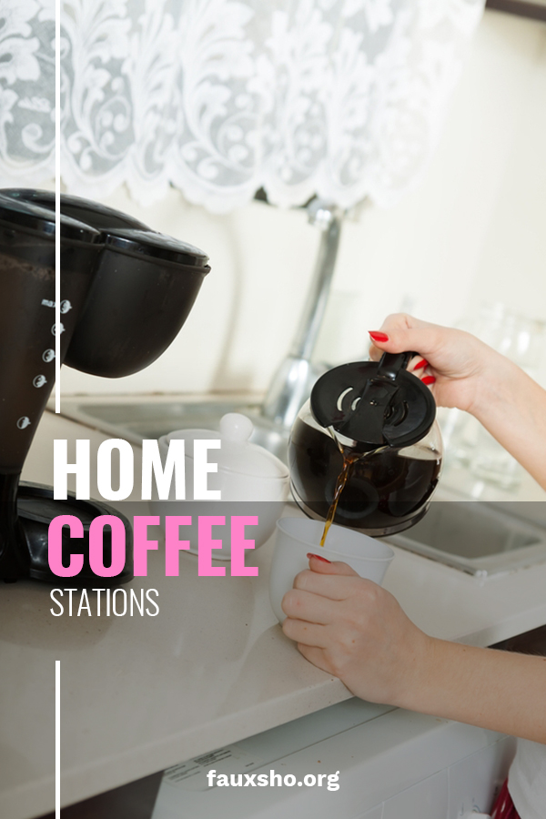 A large reason people are willing to spend way too much at places like Starbucks, is not just about the coffee, it's about the experience! So, why not create that experience by creating a better than Starbucks home coffee station. A station for caffeine hydration. This post provides tips about all you will need to make your home a gathering place for coffee. #homecoffeestation #coffeebar #DIYcoffeestation