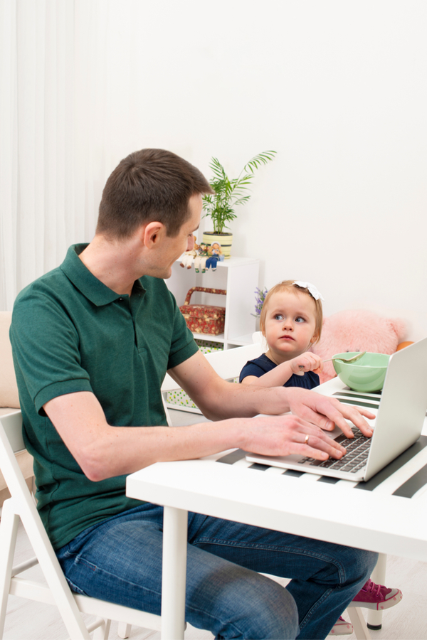 As a work from home parent, I know the challenges we face. Today I'm sharing the best work from home parenting tips I've found, to hopefully make it easier for all of us. Take a look!
