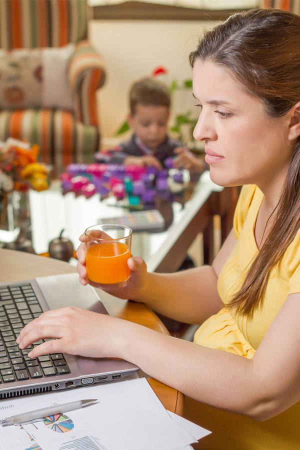 As a work from home parent, I know the challenges we face. Today I'm sharing the best work from home parenting tips I've found, to hopefully make it easier for all of us. Check them out!