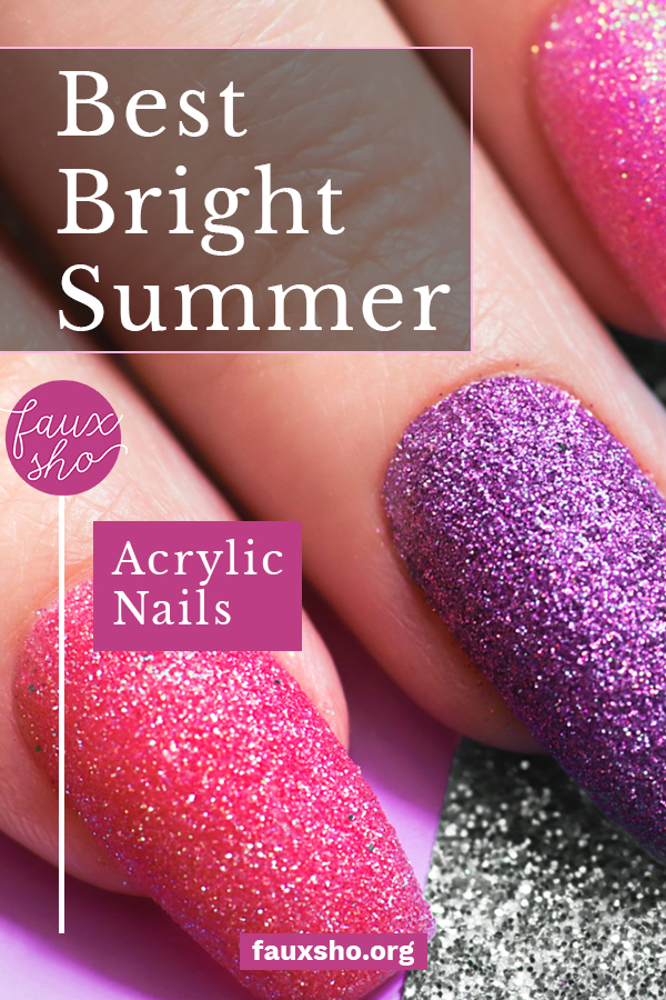 The salons are open, which means it's time to celebrate by wrapping your nails in neon hues! From hot pink to lime green, check out these stunning ideas. #FauxShoBlog #BestBrightSummerAcrylicNails #NeonAcrylicNails #SummerManicure